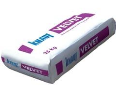 Finitura liscia per interni a base di gesso-calce VELVET -