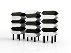 Cassettiera componibile in alluminioKIKI - ALTREFORME