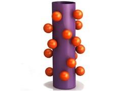 Vaso in alluminio LES DEUX-MAGOTS - festa mobile, parigi anni venti