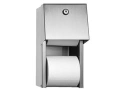 Portarotolo per bagni pubblici in acciaio inoxINOX | Portarotolo per bagni pubblici - PONTE GIULIO