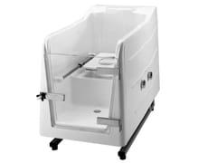 Vasca da bagno a tenuta stagna in vetroresina con porta700 | Vasca da bagno - PONTE GIULIO