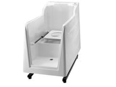 Vasca da bagno in vetroresina con WC integrato800 | Vasca da bagno con WC integrato - PONTE GIULIO