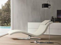 Chaise longue imbottita in pelleART - DALL'AGNESE
