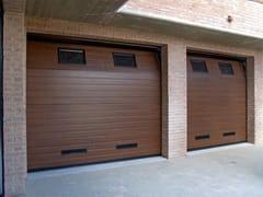 Portone da garage in acciaio zincatoCPS RL42 | Portone da garage - BREMET CHIUSURE TECNICHE