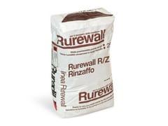 INTONACO DEUMIDIFICANTERUREWALL® R/Z RINZAFFO - RUREDIL
