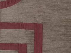 KOHRO, VELVET SQUARE Tessuto in viscosa e cotone con motivi grafici