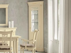 Vetrina angolare laccata TIFFANY | Vetrina angolare - Tiffany Laccato