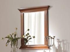 Specchio in ciliegio a parete con cornice BOHEMIA | Specchio a parete - Bohemia
