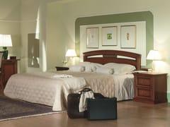 Letto matrimoniale in ciliegio per hotel VENEZIA | Letto per hotel - Venezia