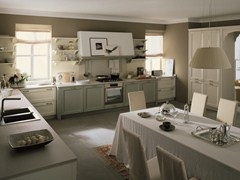 Cucina lineare in abete NUOVO MONDO   Cucina - Nuovo Mondo