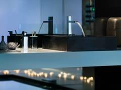 Miscelatore per lavabo a cascata elettronicoLOOP E | Miscelatore per lavabo a cascata - CARLO NOBILI RUBINETTERIE