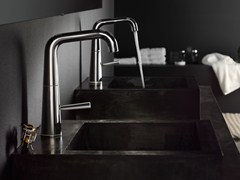 Miscelatore per lavabo monocomando con scarico automaticoLIKID | Miscelatore per lavabo - CARLO NOBILI RUBINETTERIE