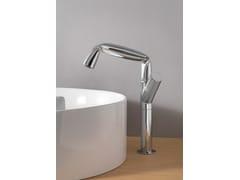 Rubinetto per lavabo da piano monocomando in metallo FOLD | Rubinetto per lavabo da piano - Fold