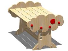 Tavolo rettangolare in legno MELA | Tavolo rettangolare - I love wood