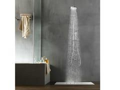 Colonna doccia a parete termostatica con soffionePLUS | Colonna doccia - CARLO NOBILI RUBINETTERIE
