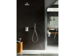 Miscelatore per doccia con deviatoreCUBE | Miscelatore per doccia con deviatore - CARLO NOBILI RUBINETTERIE