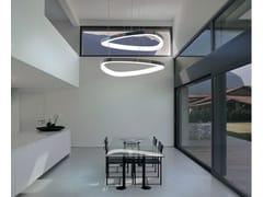 Lampada a sospensione a LED in alluminio SOFT DELTA | Lampada a sospensione - Soft Delta
