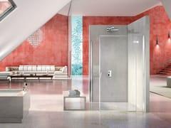 Box doccia angolare in cristallo PURA 5000 NEW | Box doccia in cristallo - Aura – senza profili