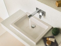Miscelatore per lavabo a muro UP | Miscelatore per lavabo a muro - Up