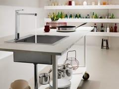 Miscelatore da cucina cromato con bocca girevoleUP | Miscelatore da cucina - CARLO NOBILI RUBINETTERIE