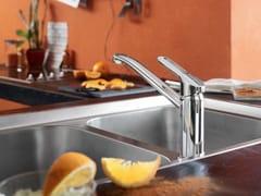Miscelatore da cucina cromato monoforoNEW ROAD | Miscelatore da cucina - CARLO NOBILI RUBINETTERIE