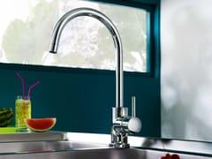 Miscelatore da cucina cromato con bocca girevoleLIVE | Miscelatore da cucina con bocca girevole - CARLO NOBILI RUBINETTERIE