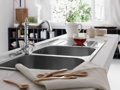 Rubinetto da cucina cromato da piano monoforoRITZ | Rubinetto da cucina - CARLO NOBILI RUBINETTERIE