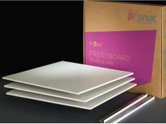 Pannelli per controsoffitto ispezionabile in gesso rivestito PregyBoard Italia vinilico - Controsoffitti ispezionabili