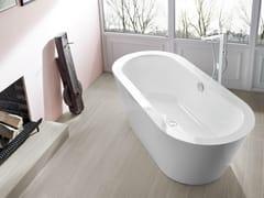 Bette, BETTESTARLET OVAL SILHOUETTE Vasca da bagno centro stanza ovale