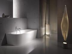 Vasca da bagno asimmetrica in acciaio smaltato BETTESTARLET V SILHOUETTE -