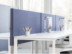 Pannello divisorio da scrivania fonoassorbenteSONEO | Pannello divisorio da scrivania - ABSTRACTA