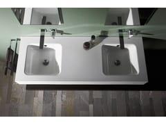 Lavabo doppio in acciaio smaltatoBETTEONE | Lavabo doppio - BETTE