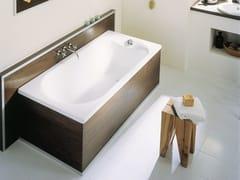 Vasca da bagno asimmetrica in acciaio smaltato bettepur v bette - Vasca da bagno in acciaio ...