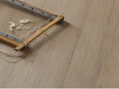 Parquet in rovere effetto tessuto TRACCE DI LISTONI | PARQUET DESIGN | Pavimento in rovere - Tracce di Listoni