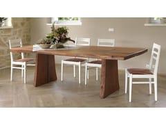 Tavolo da pranzo rettangolare in legno di peroSBERLA DE PERO | Tavolo da cucina - CADORIN GROUP