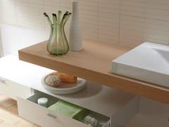 Piano lavabo singolo in legnoBETTEROOM   Ripiano di supporto - BETTE