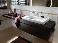 Mobile lavabo singolo in legnoBETTEROOM   Modulo base - BETTE