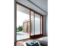 Porta-finestra scorrevole in legnoPorta-finestra scorrevole - BG LEGNO