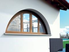 Finestra ad arco in legnoALASKA | Finestra - BG LEGNO