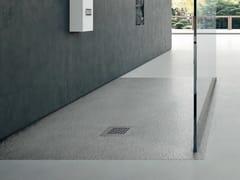 Piatto doccia antiscivolo filo pavimento rettangolare in materiale sintetico in stile moderno FORMA | Piatto doccia filo pavimento - Forma