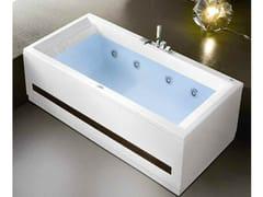 Gruppo Geromin, ERA PLUS 190x90 Vasca da bagno idromassaggio rettangolare in acrilico