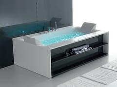 Gruppo Geromin, SENSUAL 190 Vasca da bagno idromassaggio in Corian®