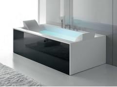 Vasca da bagno idromassaggio in Corian® SENSUAL 190 x 100 - Sensual
