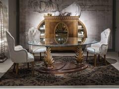 Tavolo ovale in vetroARTS | Tavolo ovale - CARPANELLI