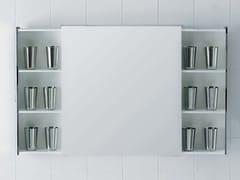 Ceramica Flaminia, LEFT/RIGHT | Specchio con contenitore  Specchio con contenitore
