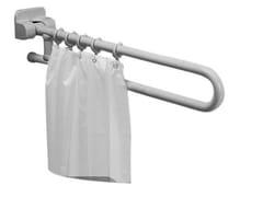 Maniglione bagno ribaltabile in acciaio zincatoMAXIMA | Maniglione bagno in acciaio zincato - PONTE GIULIO