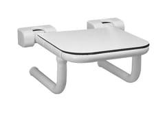 Sedile doccia ribaltabile in HPLTUBOCOLOR | Sedile doccia in HPL - PONTE GIULIO