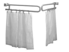 Bastone per tende / maniglione bagno in acciaio zincatoTUBOCOLOR | Maniglione bagno - PONTE GIULIO