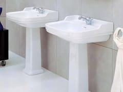 Lavabo in ceramica su colonna EFI | Lavabo su colonna - Efi