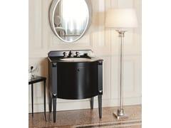 Mobile lavabo singolo in stile classico CHESTER   Mobile bagno singolo Nero - Chester